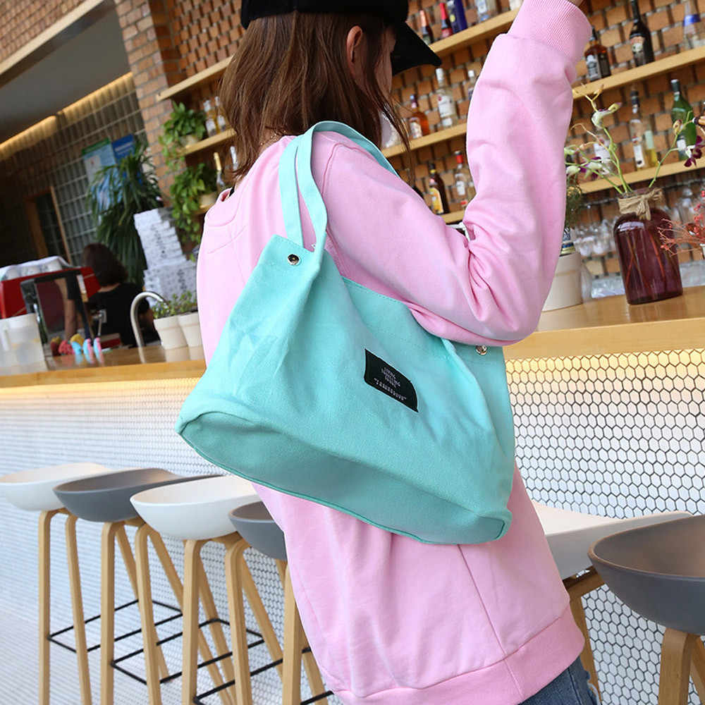 d71a976e00 Girls Women Retro Female Simple Letter Canvas Bag Crossbody Shoulder  Handbag white handbag shoulder bag messanger bag tote bag s