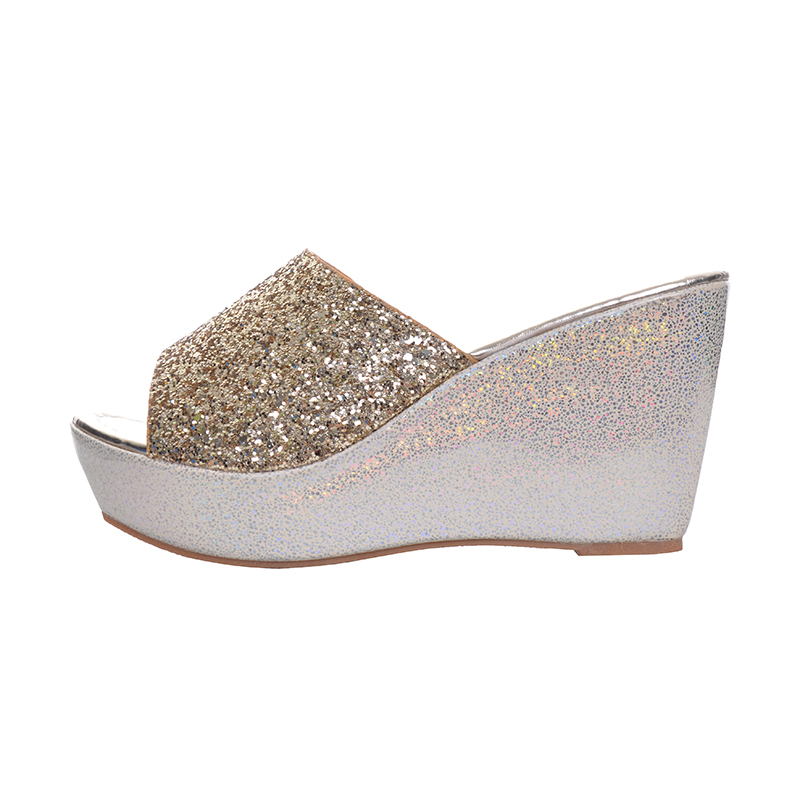 9a0a5d8a4ec35 HEE GRAND Women Slippers Bling Bling Glitter Platform Wedge Slides 2017  Thick Bottom Casual Women Shoes XWT513-in Slippers from Shoes on  Aliexpress.com ...
