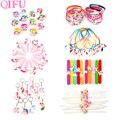 QIFU вечерние украшения в виде единорога, вечерние товары для единорога, украшение на день рождения единорога, детское кольцо, брелок для пода...