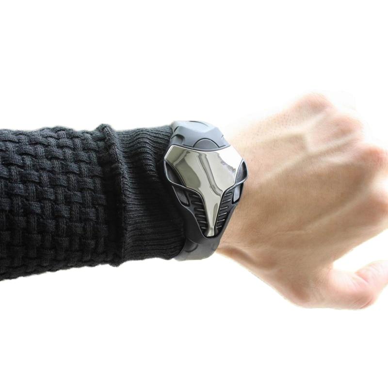 Heißer Silikon Sport Digitale Herren Uhren Dreieck Mann Led Fitness Uhr Mode Lässig Männer Elektronische Uhr Erkek Kol Saati # 1tms AusgewäHltes Material Herrenuhren Digitale Uhren