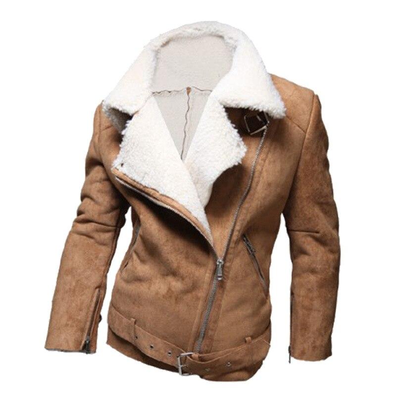 Winter Jackets 2016 Men Fashion Warm Thicker Lamb's Wool