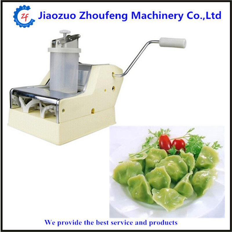 Hand shaking dumpling wrapper making machine manual pierogi dumplings maker high quality household manual hand dumpling maker mini press dough jiaozi momo making machine