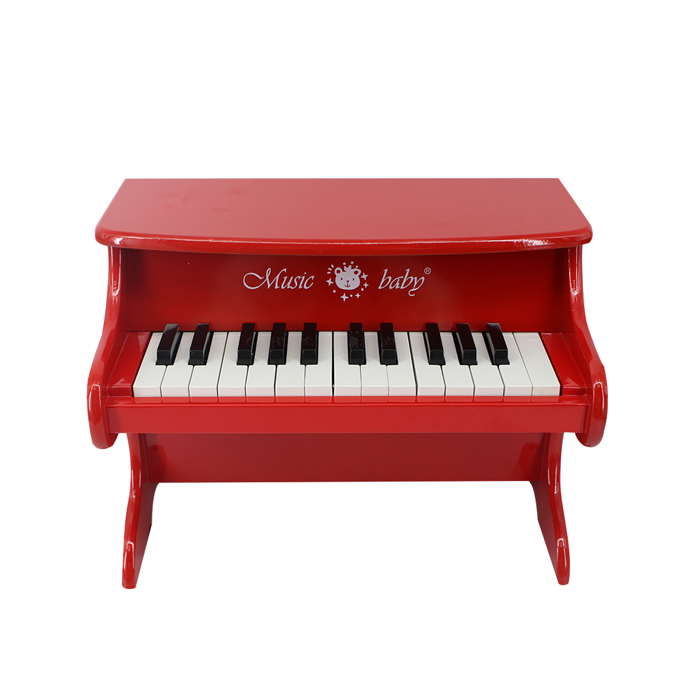 Piano jouet pour enfants en bois massif mini piano
