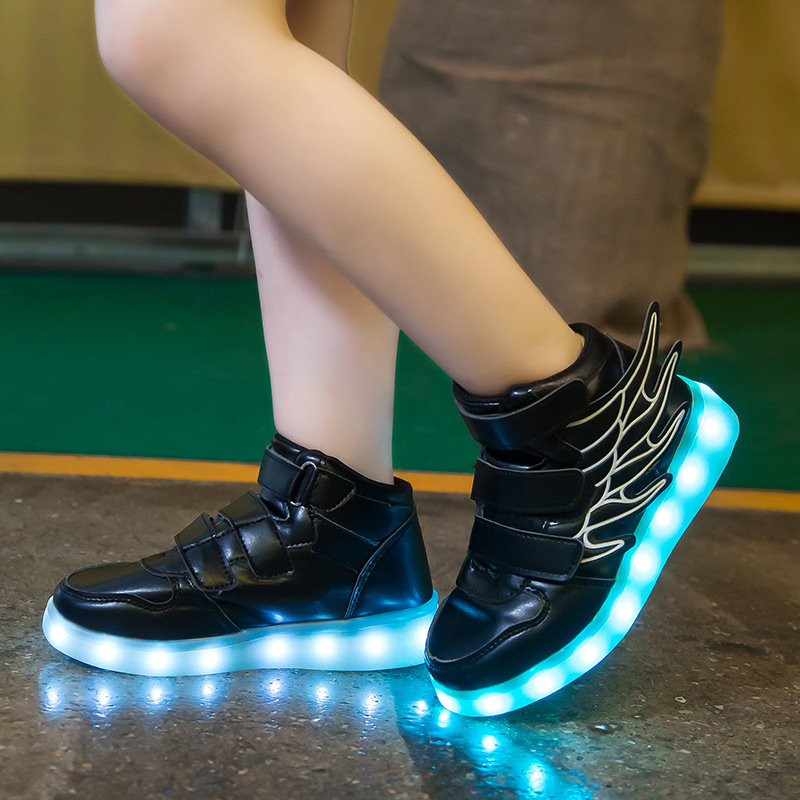 Smart Glowing Luminous USB Charging Light up Led Shoe 1