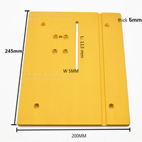 sierra circular mini table saw panel circular saw table pedal DIY woodworking machines mat with scale free shipping