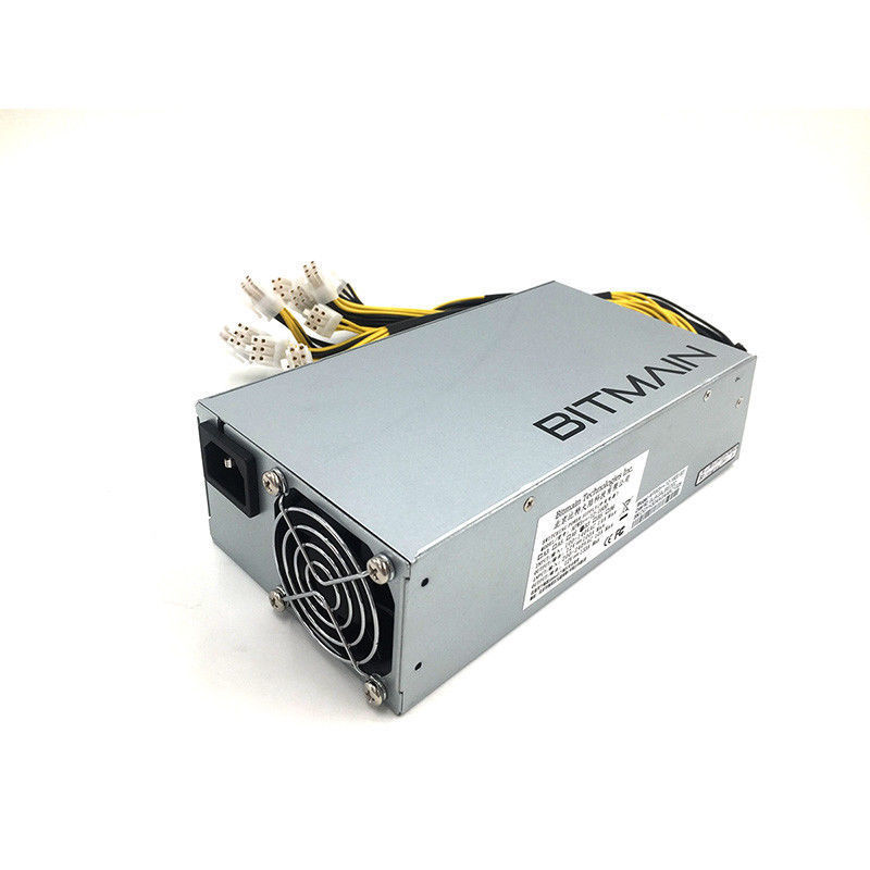 Original <font><b>Bitmain</b></font> 6PIN*10 <font><b>Antminer</b></font> Miner APW3 + power PSU 1600W power supply for antminerS9 <font><b>S7</b></font> d3 L3+ for A4+ M3 image