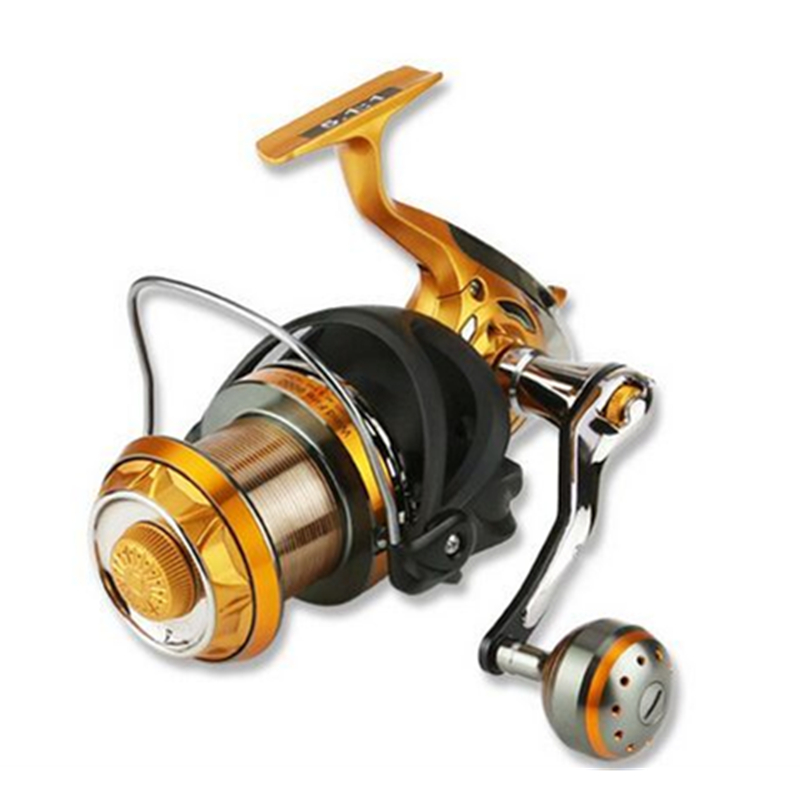 YUMOSHI New Water Resistant Carbon Baitcasting Reel longshot casting for carp and salt water surf spinning big sea fishing reel