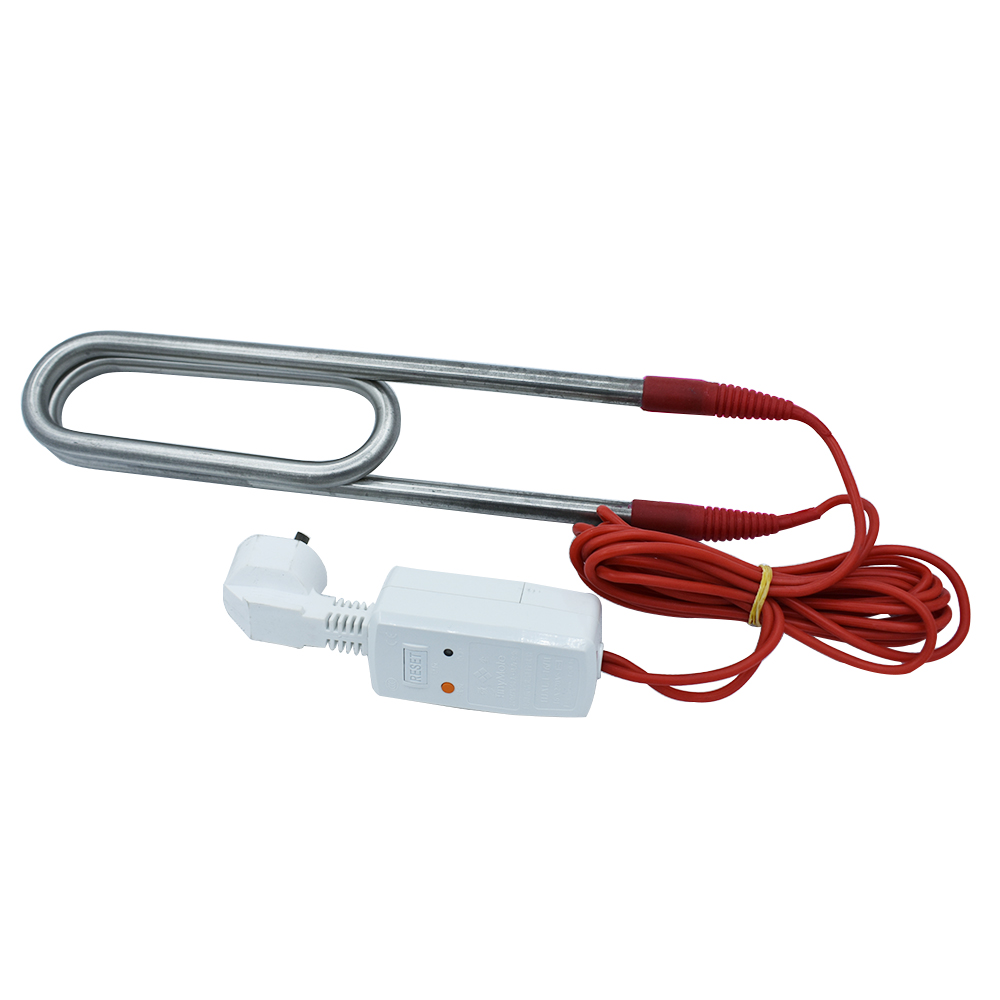 Double-U Swimming Pool Heater Heating Element 2.5KW/3KW With Leak Proof Plug Stainless Steel Hight-Power Immersion HeaterDouble-U Swimming Pool Heater Heating Element 2.5KW/3KW With Leak Proof Plug Stainless Steel Hight-Power Immersion Heater