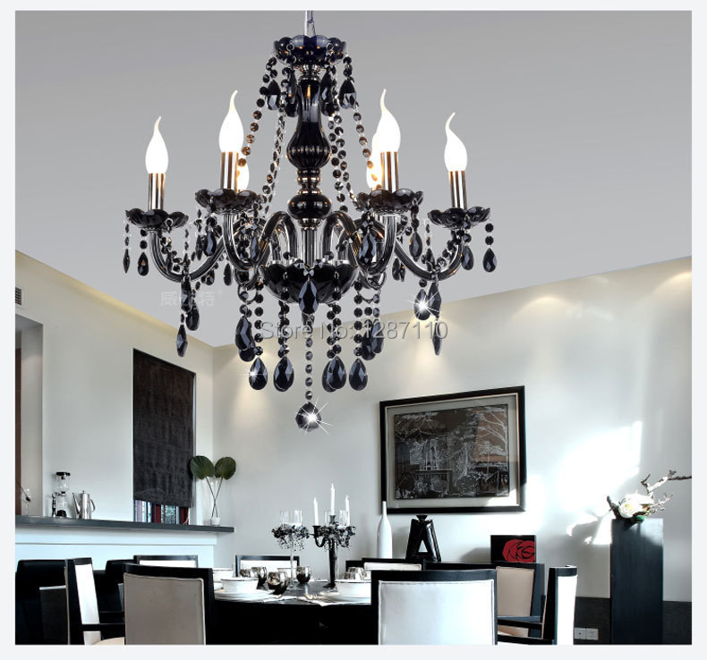 modern crystal chandelier light lustres e pendentes lustres e pendentes hand blown art glass chandelier White / Black / red