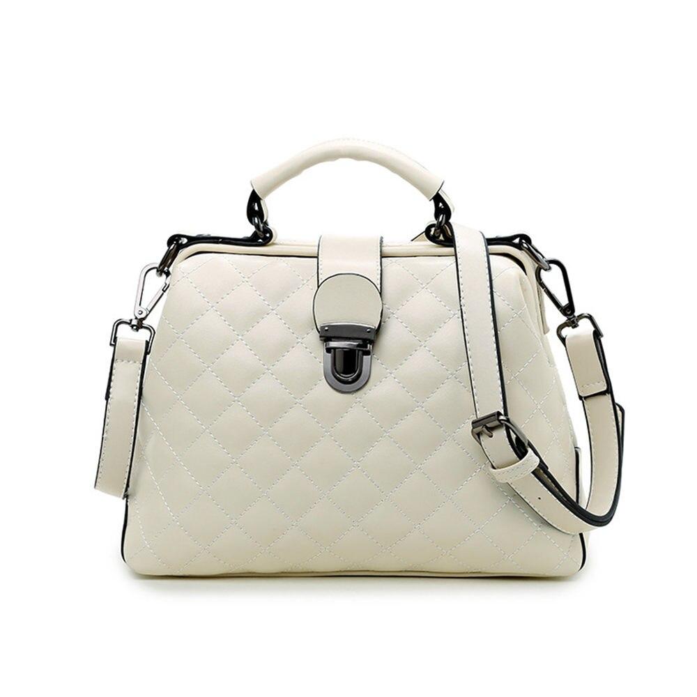 ФОТО 2017 Lady Elegance Minimalist Plaid Shoulder Crossbody Bag Women Fashion Shopping Handbag Travel Party Leisure Tote