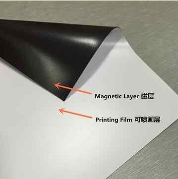 A4 ukuran 5 pieces sampel Inkjet Cetak inkjet Magnetik Kertas Matte/Glossy permukaan avaiable