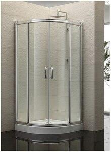 Душевая кабинка с прозрачным закаленным стеклом, душевая кабинка с раздвижной дверью AXB1000S, новый дизайн, 2019