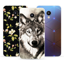 For Meizu M5C Case Cover Meizu A5 Case Soft Silicone TPU Printed Phone Back Cover Case For Meizu M5C M 5C M710H Funda Bumper 5 0 cheap Fitted Case Dirt-resistant Anti-knock Abstract Patterned cute Animal Exotic Floral 5 0 inch Transparent Case Soft Silicone With Cute Cartoon Animals Patterns