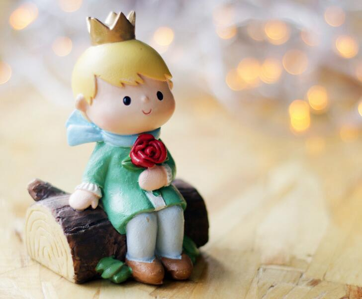 7cm hot the little prince toys le petit prince action Decoration le petit prince