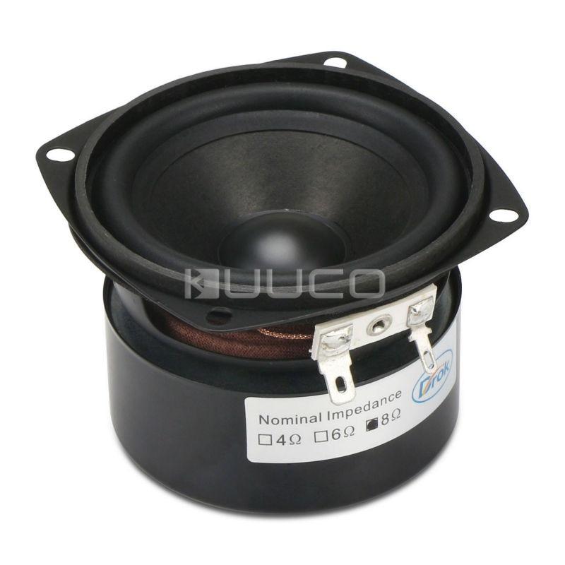 HiFi Full-range speaker 15W Audio Speaker 3 inches 8 ohms Antimagnetic Speaker Loudspeaker satellites good audio sound h 019 fountek fr88ex full range 3 inch hifi speaker amplifier speaker hot sale 84 3db 1w 1m