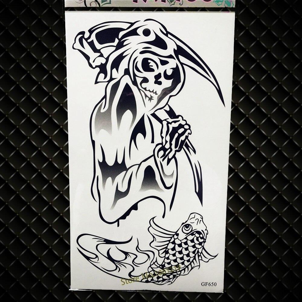 3D Черный волшебная палочка Временные татуировки c Книги по искусству Ун для детей звезда бантом Водонепроницаемый татуировки Средства уход...