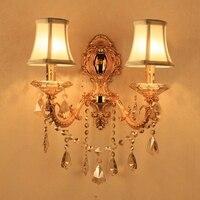 מותג בציר אור המראה בחדר אמבטיה פמוט הוביל קיר גופי תאורת המיטה דקור חדר שינה מנורת קיר נר מסדרון זהב