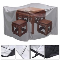 Large Size Square Cases Dust Cover Tarpaulin Cover Garden Furniture Plane Case Tear/ Weather proof Polyethylene Fabric Cover