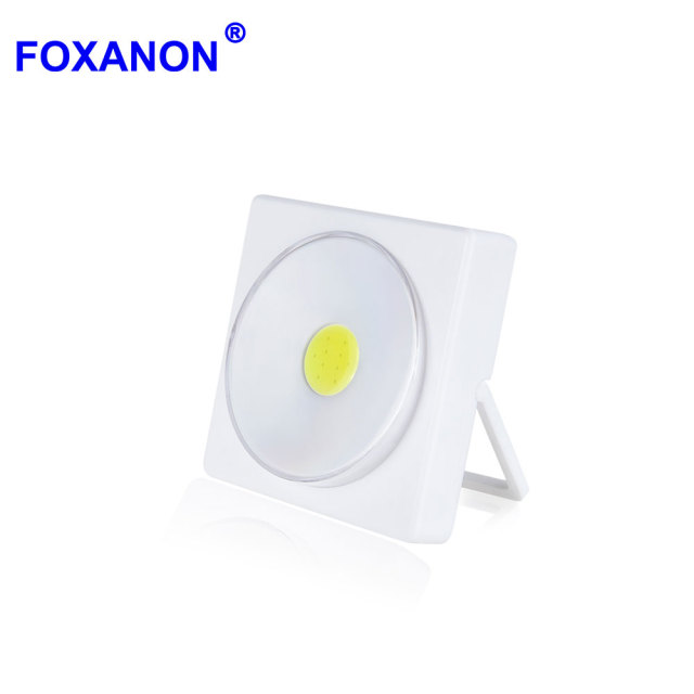 Foxanon Desk Lamp 5w Led Table Lamps With Switch Bed Reading Book Light Battery Operated Can