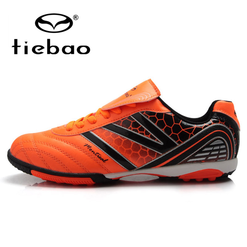 bde0e318b TIEBAO Professional Children Kids TF Turf Rubber Soles Football Boots  Outdoor Sports Shoes Boys Girls Soccer Shoes, 3 Colors-in Athletic Shoes  from Mother & ...