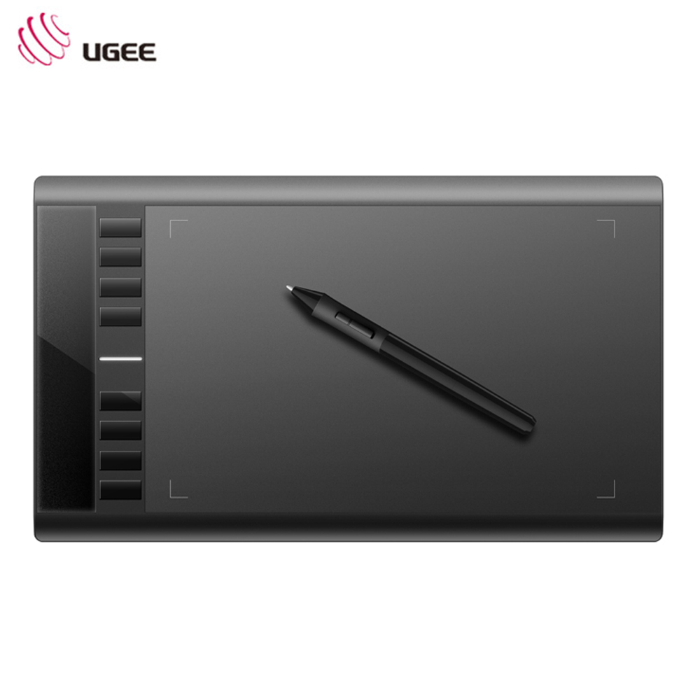 цена на UGEE M708 10 x 6 inch 5080 LPI Resolution Smart Graphics Tablet P51 Drawing Pen for Digital Writing / Painting