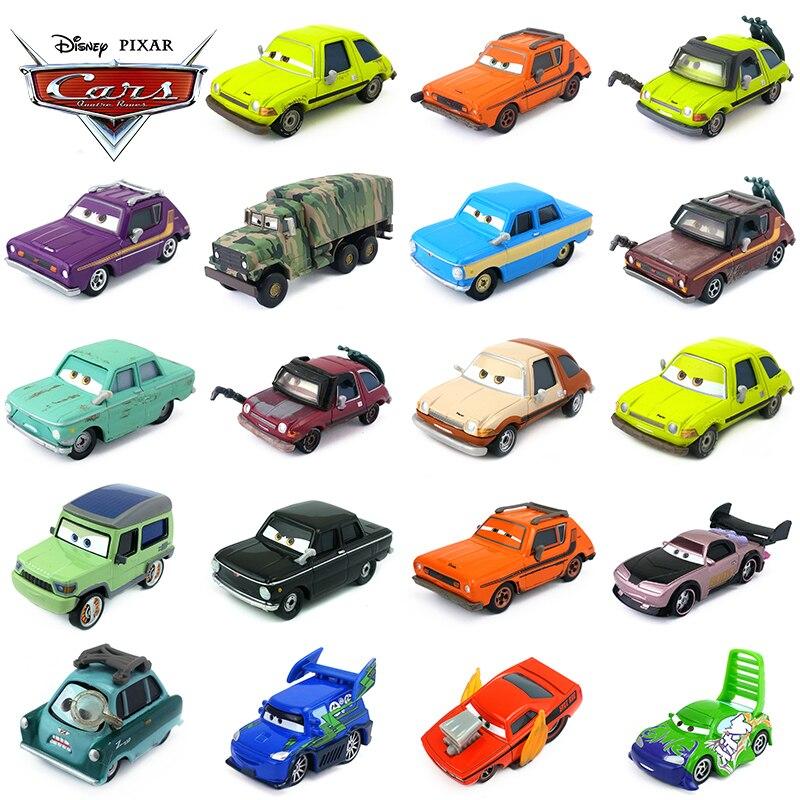 Дисней Pixar Cars Grem, проценитель Z Miles Acer Wingo DJ Snot Rod Boost 1:55, металлические литые игрушки, модель автомобиля для мальчиков, детский подарок