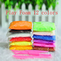 12 Colors Play foam Light Soft Colored Modeling Clay Model Magic Air Dry slime Plasticine Play Set  Play Dough Doh 12 Bags