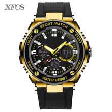 XFCS 2017 waterproof watches for men original man automatic watchs esportivo mens top digitales watch military clock countdown