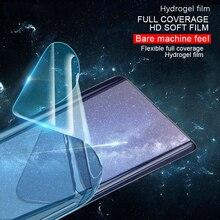 Redmi Note 7 6 5 Pro Clear TPU Hydrogel Film For Xiaomi 9 8 Lite Mix 3 Max PocoPhone F1 Full Cover Screen Protector