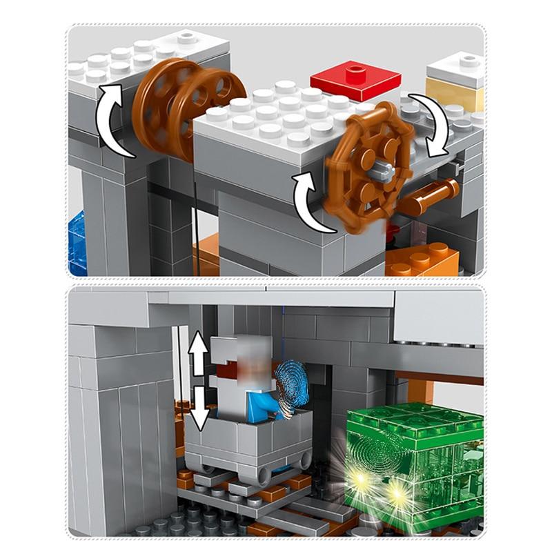 1315 stücke kinder pädagogisches spielzeug Montage blöcke Kompatibel Legoingly minecraft Pädagogisches Spielzeug für Kinder Geschenk-in Modellbau-Kits aus Spielzeug und Hobbys bei  Gruppe 3