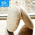 Tatami futon meditation cushion thickening yoga circle corn husk straw braid mat japanese style