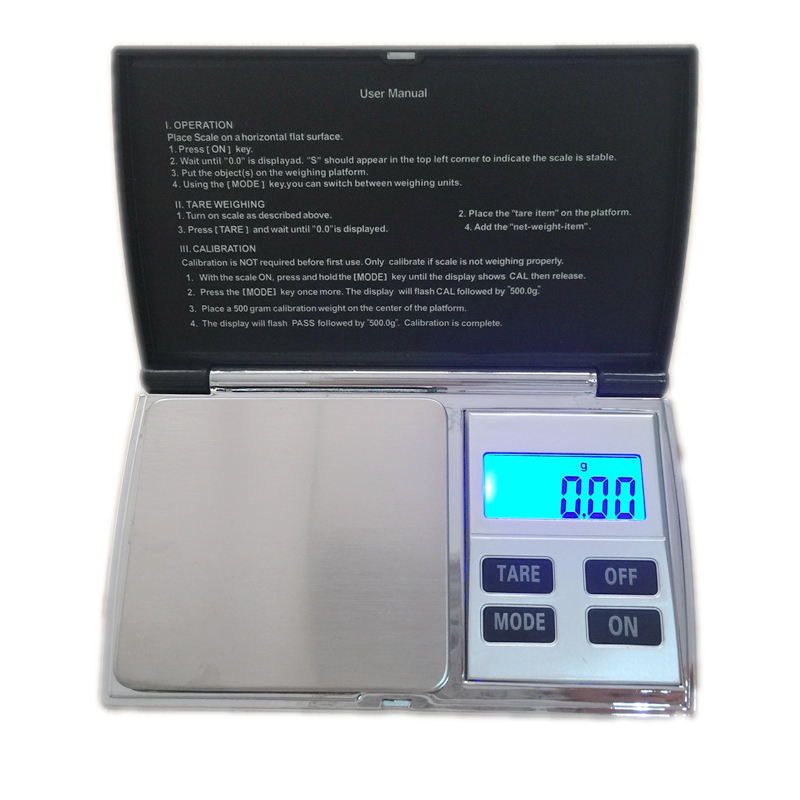portable digital jewelry scale 500g electronic blue. Black Bedroom Furniture Sets. Home Design Ideas