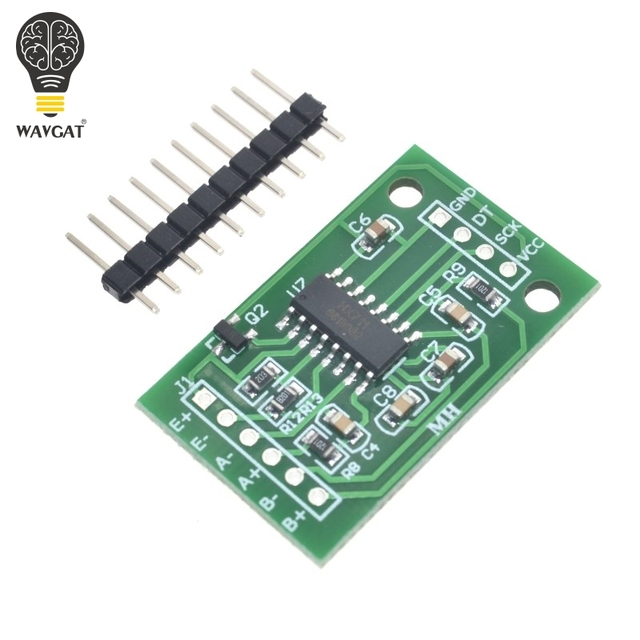 Wavgat двухканальный HX711 весом Давление Сенсор 24-бит точность A/D модуль для Arduino DIY электронные весы