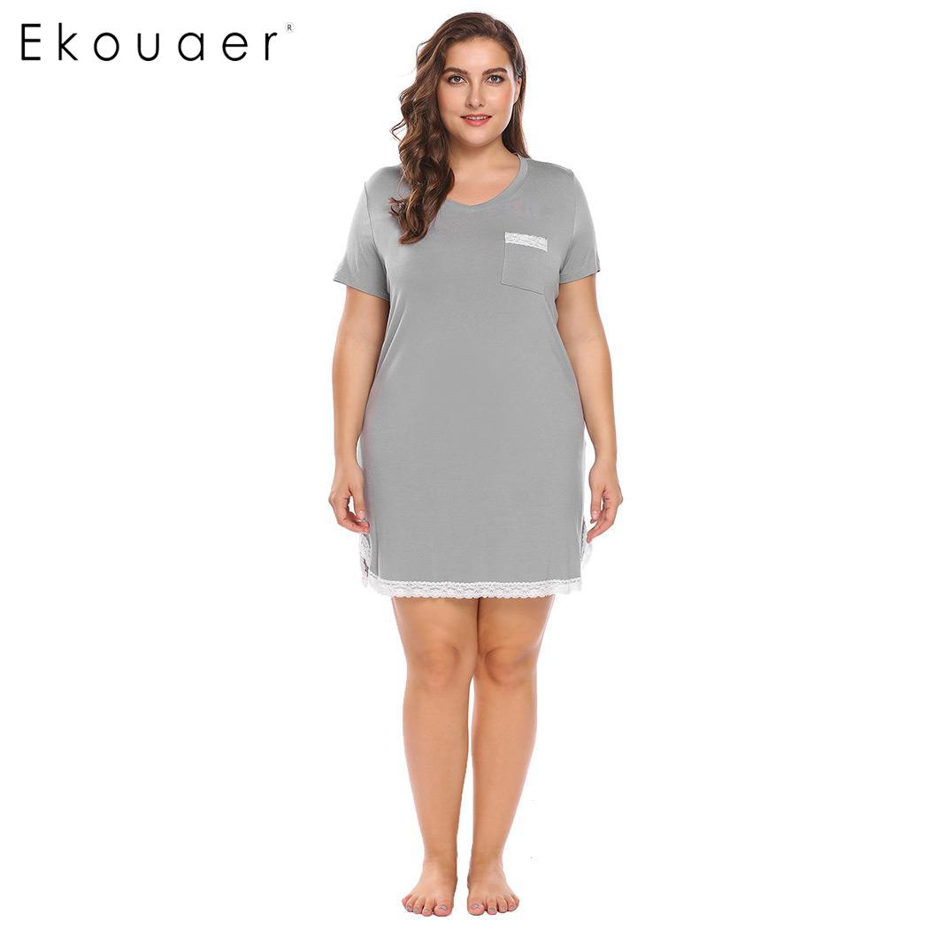 womens nightgowns plus size