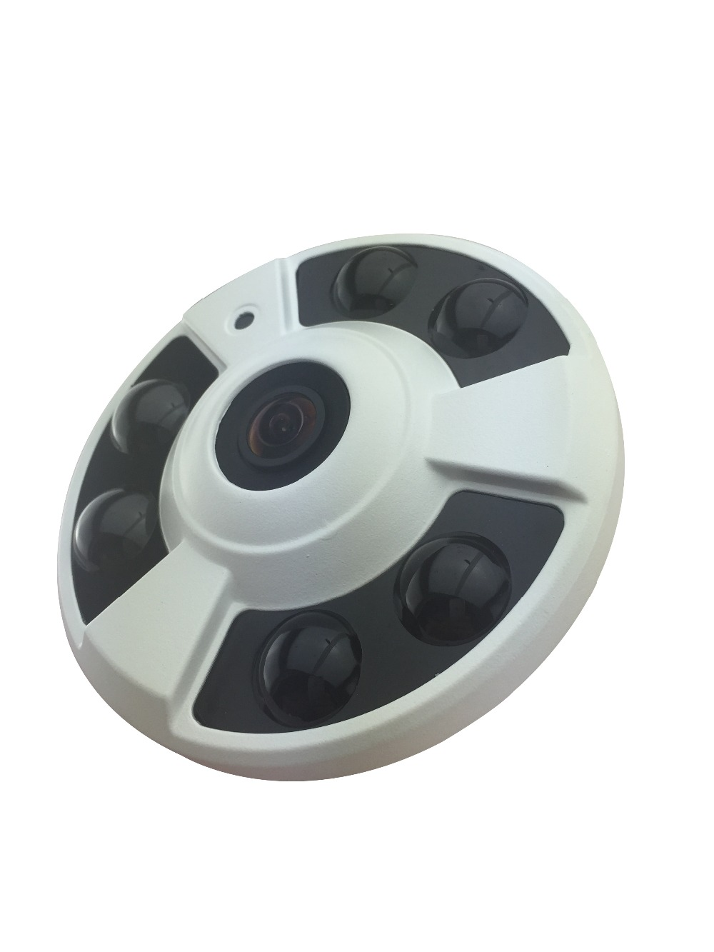 Wide-angle network IP camera HD 1080P 2.0MP indoor ceiling monitoring security CCTV Onivf, H.264 P2P cloud monitoring Audio