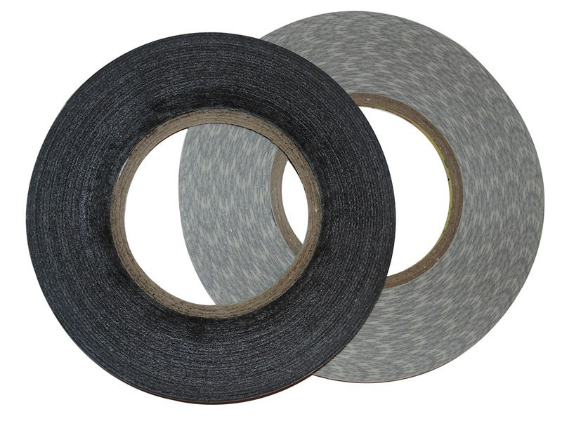 100pcs lot 2 mm 50 M 3 M black double sided adhesive tape for mobile phone