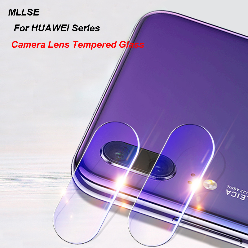 1Pc/2Pcs Rear Camera Lens Tempered Glass For HUAWEI P20 Pro P10 P9+ Honor 6X V10 9 8 Mate 10 Back Camera Lens Protective Film