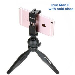 Image 3 - Ulanzi Vlog DSLR trépied Mobile pour 11 Pro Max Huawei voyage Portable Table trépied support réglable Ballhead télécommande