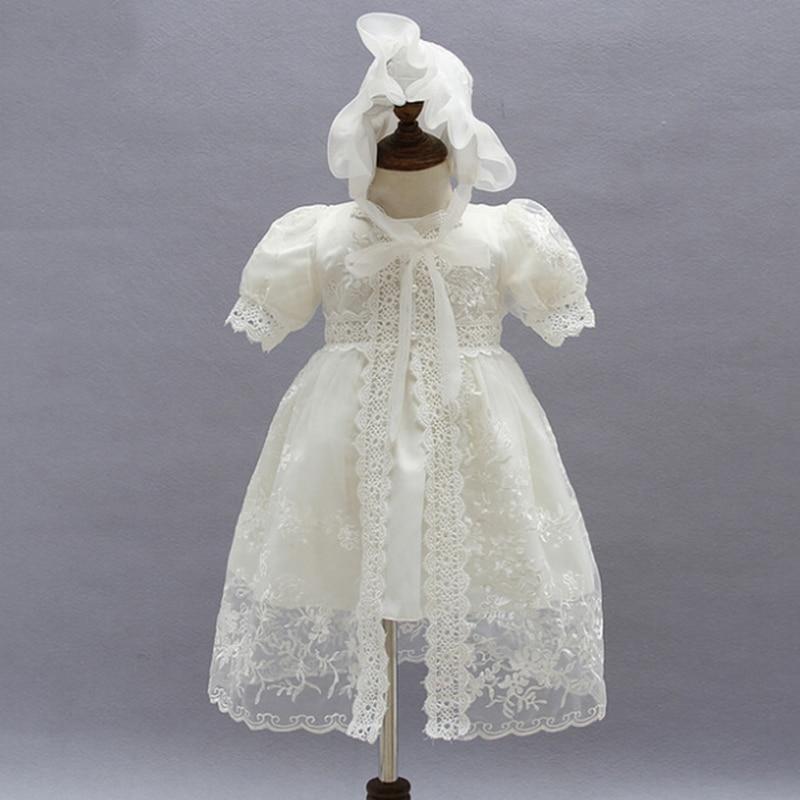 இVestido del bebé con chal + sombrero para las muchachas del niño ...