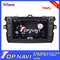 Newly 8 inch Win CE 6.0 Special Car DVD for Toyota Corolla 2007-2011 Car Audio GPS Radio