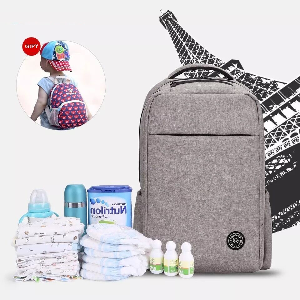 ФОТО Baby Stroller Changing Diaper Bag Backpack Baby Bags For Mom Travel Mother Mummy Bag Organizer Nappy Backpack Bebe Maternidade
