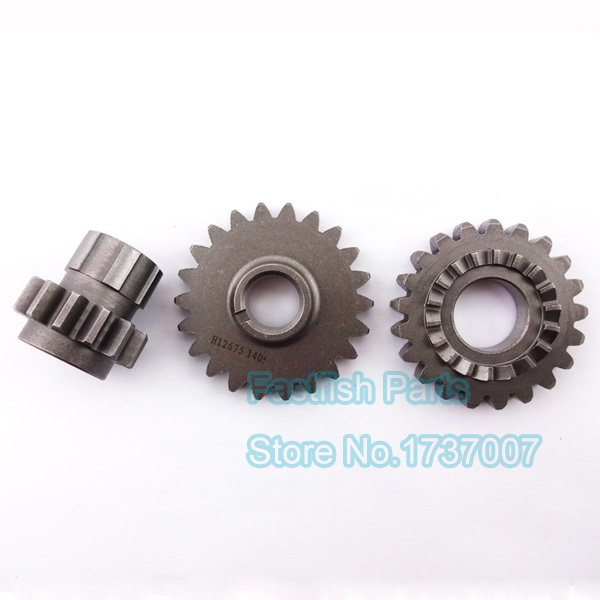 US $16 22 6% OFF Aliexpress com : Buy Transmission Gears Gear YX150 Idler  Driven Bridge Kick Strat For YX 150cc Pit Dirt Bikes Motorcycle Crass from