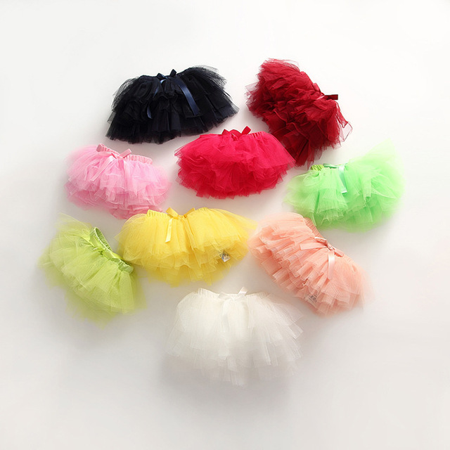 The female's summer candy colored children Tutu  body single child skirts