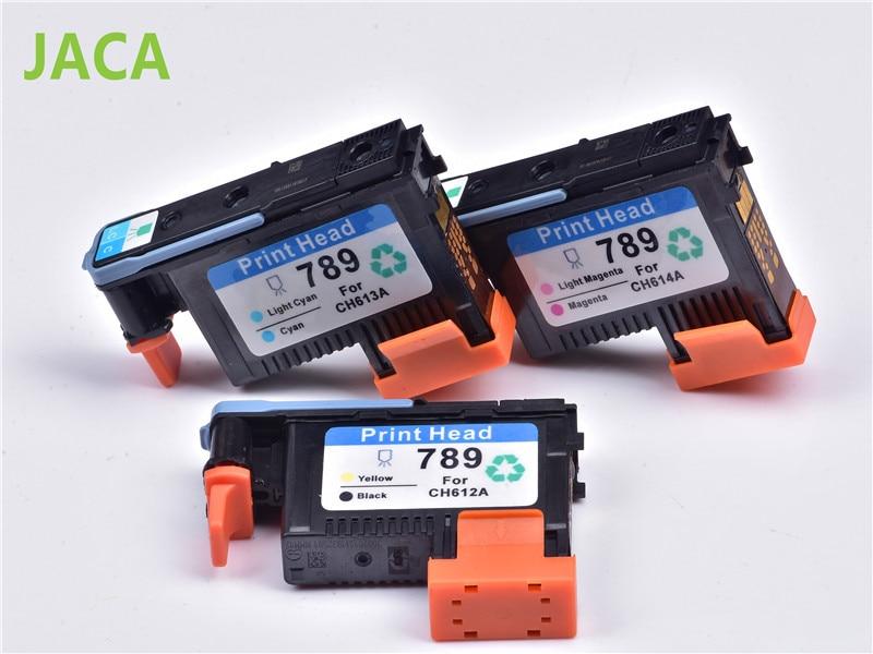 For HP789 Printhead CH612A CH613A CH614A 789 print head For HP DesignJet L25500 L26500 Printer 1x 789 printhead yellow black for hp 789 l25500 printer head ch612a