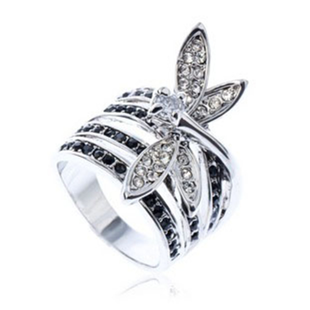Newest Offer Fashion Crystal from Austrian Crystals Womens fine Antique Ring Mona Lisa Jewelry Bijoux