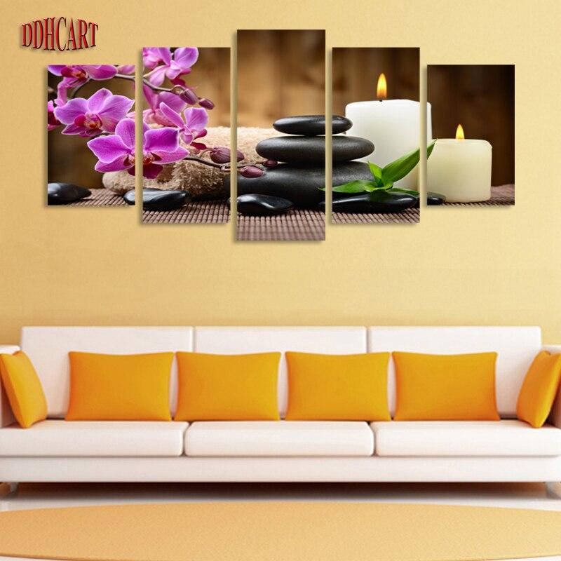 Funky Purple Canvas Wall Art Frieze - Art & Wall Decor - hecatalog.info