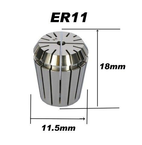 Купить высокоточный пружинный цанговый станок er11 0008 мм для фрезерного