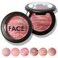 Venta caliente de la Manera de Las Mujeres Herramienta de La Belleza Cosmética Cara Maquillaje Baked Blush Colorete