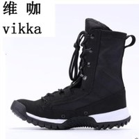high quality 2017 New Army Boots Mens Tactical Boots Shoes Desert Outdoor Hiking Leather Boots Military Enthusiasts Combat Shoes