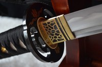 Высокое качество ручной работы японских самураев меч катана 1060 углеродистая сталь Полный Тан может cut Бамбук Дерево Специальные индивидуал